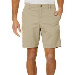 Mens Solid Twill Shorts