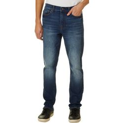 Mens Throwback Skinny Flex Stretch Denim Jeans