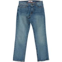 Mens Relaxed Denim Jeans