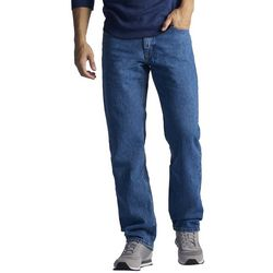 Lee Mens Regular Fit Denim Jeans