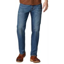Mens Extreme Comfort Straight Fit Denim Jeans