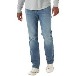 Mens Extreme Motion 4-Way Stretch Straight Taper Jeans