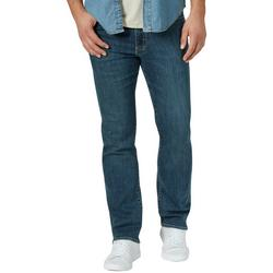 Mens Extreme Motion Regular Fit Straight Leg Jeans