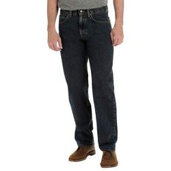 Mens Regular Relaxed Straight Leg Jeans