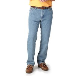 Mens Regular Fit Straight Leg Jeans