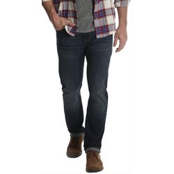Mens Flex Denim Regular Fit Taper Jeans