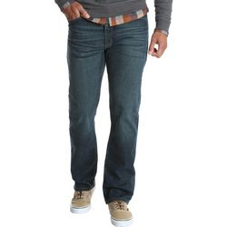 Mens Comfort Flex Denim Regular Fit Jeans