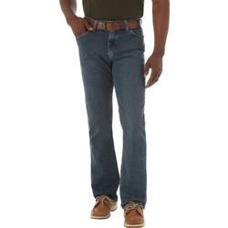 Mens Straight Fit Comfort Flex Jeans