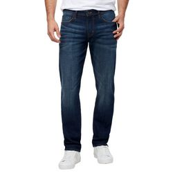 Chaps Mens Relaxed Fit Straight Leg Denim Jeans