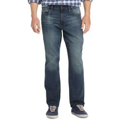 IZOD Mens Comfort Stretch Relaxed Fit Jeans