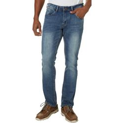 IZOD Mens Ultra Soft Straight Fit Jeans