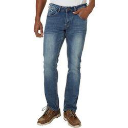 IZOD Mens Ultra Soft Straight Fit Jeans