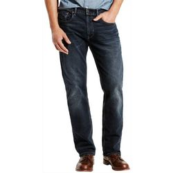 Mens Relaxed Straight Fit Jeans