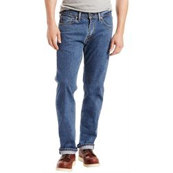 Mens 505 Regular Fit Stretch Jeans