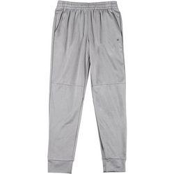 Mens Solid Fleece Jogger Pants