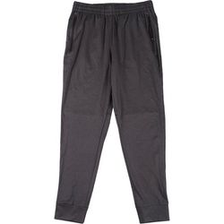 Mens Solid Performance Jogger Pants
