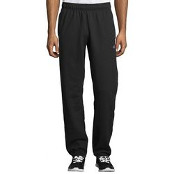 Champion Mens Solid Powerblend Fleece Pants