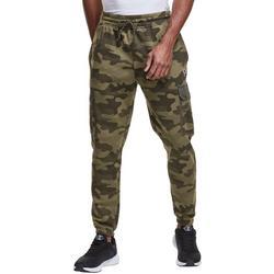 Mens Urban Pursuits Camo Fleece Pants