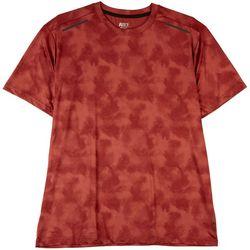 RB3 Active Mens Tie Dye Print Performance T-Shirt