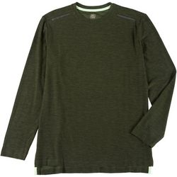 RB3 Active Mens Long Sleeve Heather T-shirt