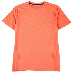 RB3 Active Mens Solid Reflective Run To T-Shirt