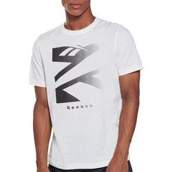 Reebok Mens Vector Fade Short Sleeve Graphic T-Shirt