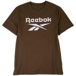 Reebok Mens Graphic Series Large Logo Solid T-Shirt