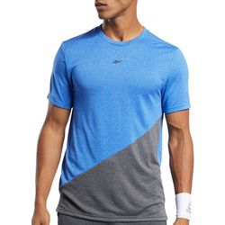 Reebok Mens Workout Ready Melange T-shirt