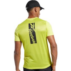 Reebok Mens Workout Ready ActivChill Short Sleeve T-Shirt