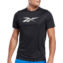 Reebok Mens Workout Classic Graphic Logo T-Shirt