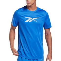 Reebok Mens Workout Ready Graphic Logo T-Shirt