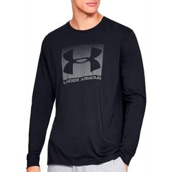 Under Armour Mens UA Sportstyle Boxed Logo Long Sleeve Shirt