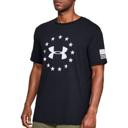 Under Armour Mens UA Freedom Logo T-Shirt