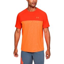 Mens UA Tech 2.0 Embossed T-Shirt