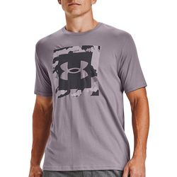 Under Armour Mens UA Camo Box Logo T-Shirt