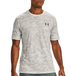 Mens UA Camo Print Short Sleeve T-Shirt