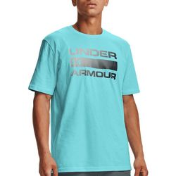 Under Armour Mens UA Team Issue Ombre Filled Logo T-Shirt