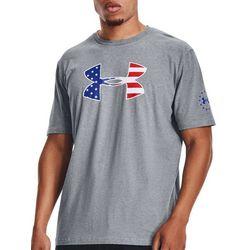 Under Armour Mens Freedom Big UA Logo T-Shirt