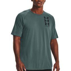 Under Armour Mens UA Tech Triple Logo T-Shirt