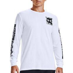 Under Armour Mens Long Sleeve Box Logo T-Shirt