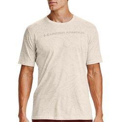 Under Armour Mens UA All Over Wordmark Short Sleeve T-Shirt