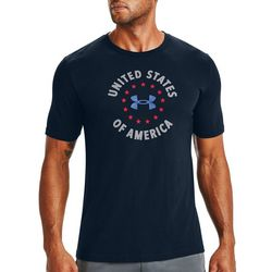 Under Armour Mens UA US Freedom T-Shirt