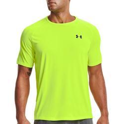 Mens UA Tech 2.0 Heathered Short Sleeve T-Shirt