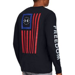 Under Armour Mens UA Freedom Long Sleeve T-Shirt