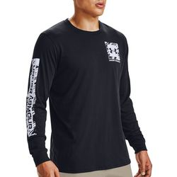 Under Armour Mens Long Sleeve Box Logo T-Shirt
