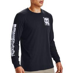 Mens Long Sleeve Box Logo T-Shirt