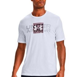 Under Armour Mens UA Box Logo Short Sleeve Tee