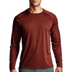 Mens UA Tech 2.0 Long Sleeve T-Shirt