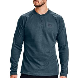 Under Armour Mens Henley Long Sleeve Shirt