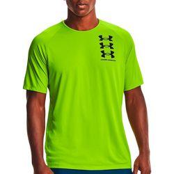 Under Armour Mens UA Triple Logo Performance T-Shirt